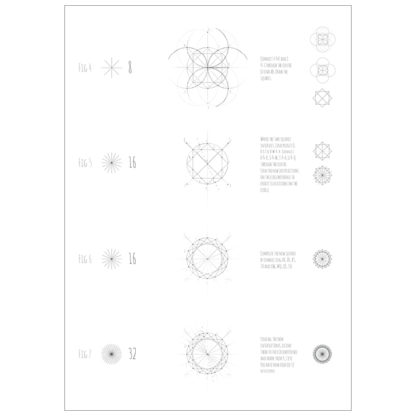 Intuitive Geometry A2 Posters - Square