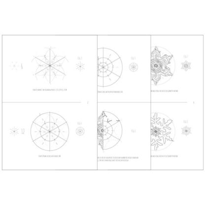 How to draw any snowflake