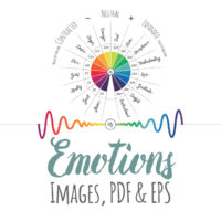 Human Emotion Frequency Scale Images, PDF & EPS