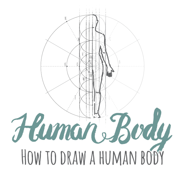 How to draw a Human Body instructions link
