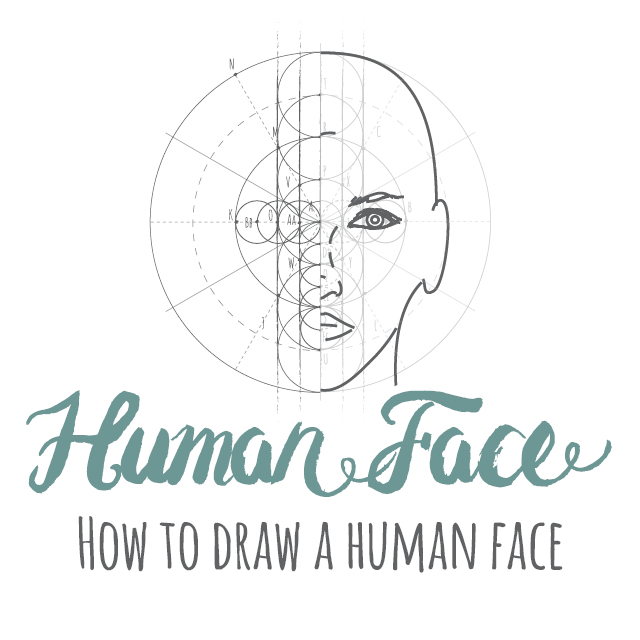 How to draw a Human Face instructions link