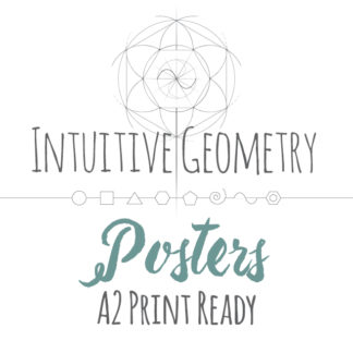 Intuitive Geometry A2 Print Ready Posters Product Image