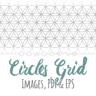 Overlapping Circles Grid Product Link