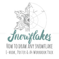 Snowflake Drawing Inspiration Pack
