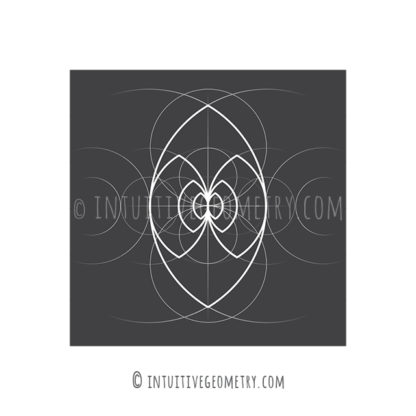 Vesica Pisces Intuitive Geometry Feature Product Image
