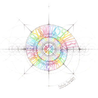 Nathalie Strassburg Intuitive Geometry I Ching Art