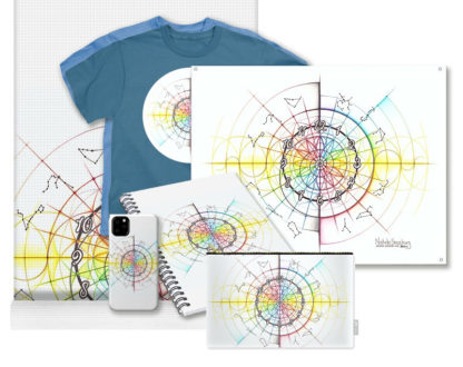 Nathalie Strassburg Intuitive Geometry Time Art Prints and Products