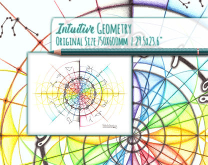 Nathalie Strassburg Intuitive Geometry Time Art life size