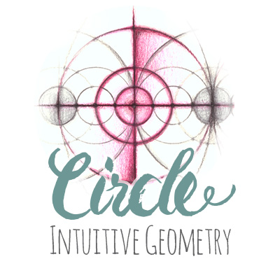Intuitive Geometry Circle Drawing Method