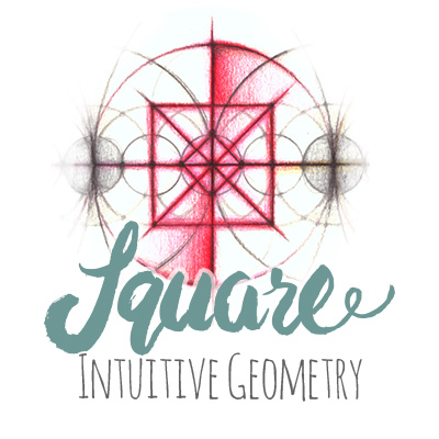 Intuitive Geometry Square Drawing Method