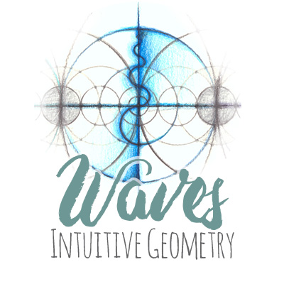 Intuitive Geometry Waves Drawing Method