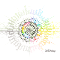 Original Intuitive Geometry Calendar Art
