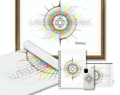 Nathalie Strassburg Intuitive Geometry The Intuitive Self and Personality Matrix Art Prints and Products