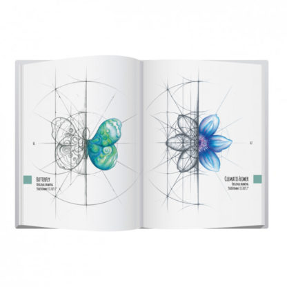 Intuitive Geometry Book with the method, step by step instructions, examples and art.