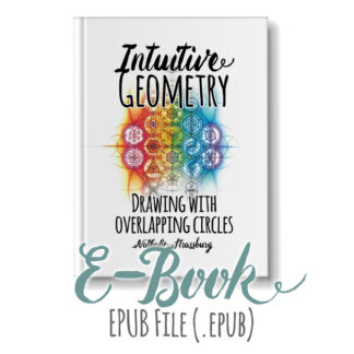 Intuitive Geometry Drawing with overlapping circles E-book