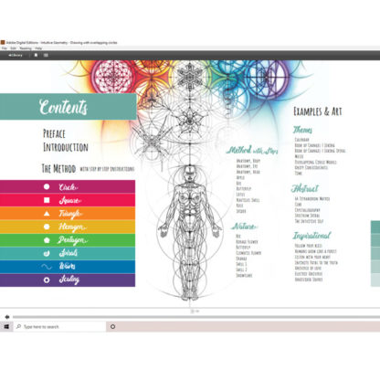 Intuitive Geometry E-book Interior Preview Contents
