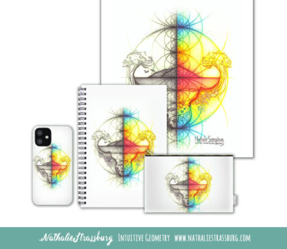Nathalie Strassburg Intuitive Geometry Spectrum Earth Art Prints and Products